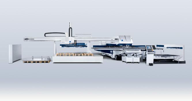 Trumpf – TruMatic 7000 (lasermachine)