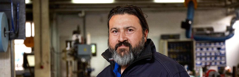 De opleider van Blozo: Derya Sahinci