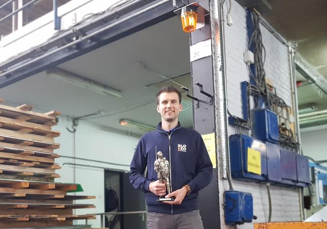 Blozo wint de Ridder Customer Innovation Award 2018