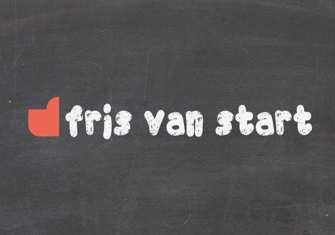 Fris van start in 2019!