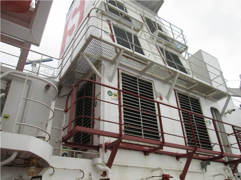 Ventilatieroosters schip