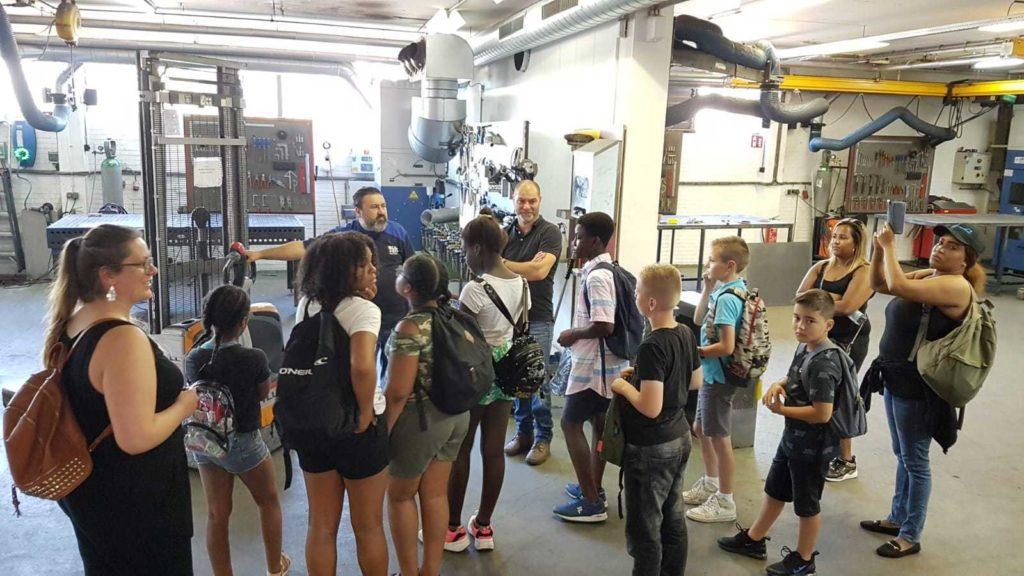 Leerlingen op bezoek bij Blozo